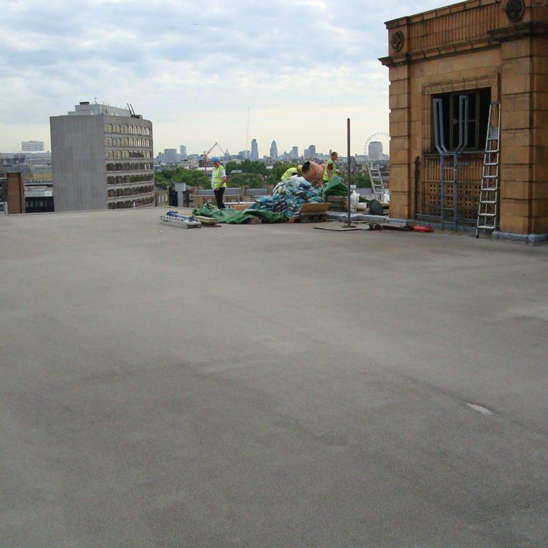asphalt roofing bromley